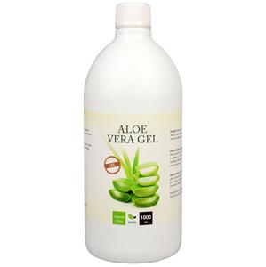 Natural Medicaments Aloe Vera gel 1000 ml - SLEVA - poškozená etiketa, znečištěná láhev