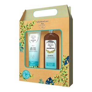 Biotter Pharma Dárková sada pro každodenní péči s arganovým olejem šampon + sprchový gel 2 x 250 ml - SLEVA - potrhaná krabička