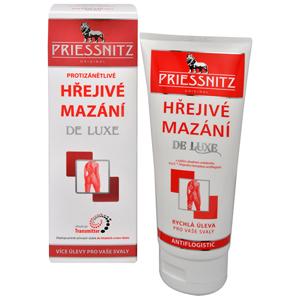 Simply You Priessnitz Hřejivé mazání De Luxe 200 ml - SLEVA - POŠKOZENÁ KRABIČKA