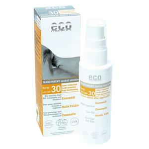 Eco Cosmetics Opalovací olej ve spreji SPF 30 BIO (50 ml) - SLEVA - BEZ KRABIČKY