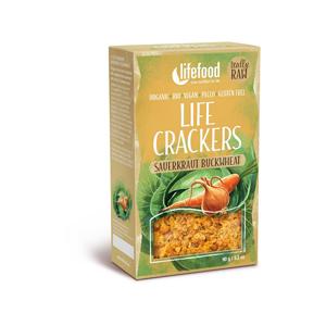Lifefood Bio Life Crackers Zelňáky RAW 90g - SLEVA