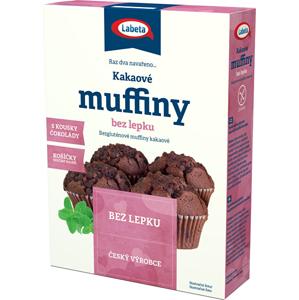 LABETA A.S. Muffins kakaové bez lepku 300 g - SLEVA - POMAČKANÁ KRABIČKA