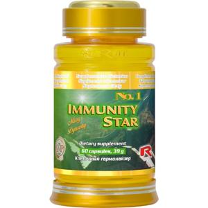 STARLIFE IMMUNITY STAR 60 kapslí - SLEVA - poškozené víčko (lepené)