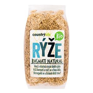 Country Life Rýže basmati natural BIO 500 g - SLEVA - KRÁTKÁ EXPIRACE - 30.10.2020