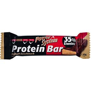 Power System Power System Protein Bar 35% Youghurt 45 g - SLEVA - KRÁTKÁ EXPIRACE 31.12.2020