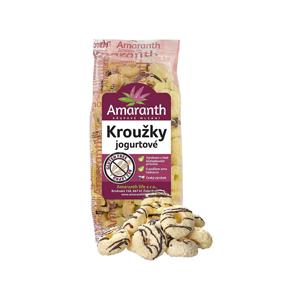 Amaranth life Kroužky jogurtové 100 g - SLEVA - KRÁTKÁ EXPIRACE 10.1.2021
