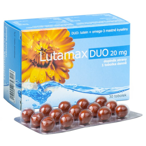 Agency MM Health Lutamax DUO 20 mg 30 kapslí - SLEVA - POMAČKANÁ KRABIČKA