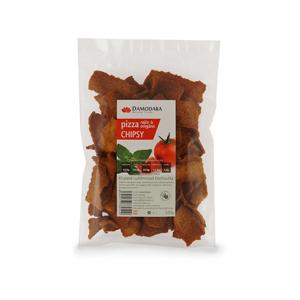 Damodara Pizza chipsy (rajče oregáno) 100 g - SLEVA - KRÁTKÁ EXPIRACE - 9.1.2021