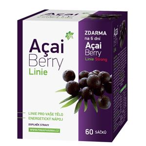 Biomedica Acai Berry Linie 60 sáčků + dárek Acai Berry Strong zdarma - SLEVA - potrhaná krabička, lepeno