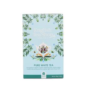 English Tea Shop Čistý bílý čaj 20 sáčků - SLEVA - potrhaná krabička, lepeno
