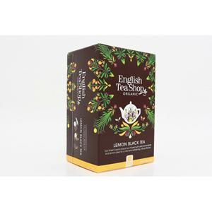 English Tea Shop Citron s černým čajem 20 sáčků - SLEVA - poškozená krabička