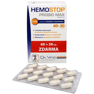 Simply You HemoStop ProBio Max 60 tob. + 30 tob. ZDARMA - SLEVA - potrhaná krabička