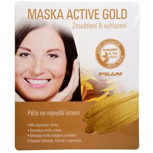 Ipsuum Prestige Maska Active Gold - hydrogelová látková - SLEVA - porušený papírový obal