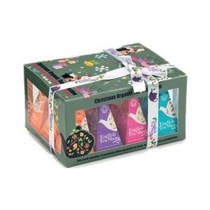 English Tea Shop Vánoční sada 12 pyramidových sáčků - Ozdoby - SLEVA - pomačkaná krabička