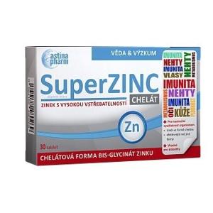 Astina Astina SuperZINC, 30 tablet - SLEVA - pomačkaná krabička