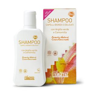 Argital Rozjasňující šampon na blond a jemné vlasy s heřmánkem 250 ml - SLEVA - poškozená krabička