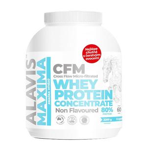 Alavis Alavis Maxima Whey Protein Concentrate 80% 2200 g - SLEVA - potrhaná etiketa