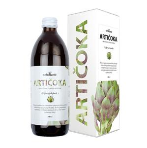 Nef de Santé Artičoka - 100% šťava z listov artičoky 500 ml - SLEVA - poškozená krabička