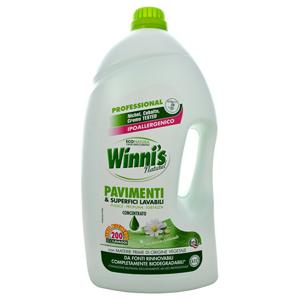 Winni´s Pavimenti čisticí prostředek na podlahy a ostatní omyvatelné povrchy 5 l - SLEVA - poškozená etiketa, chybí cca 10 ml
