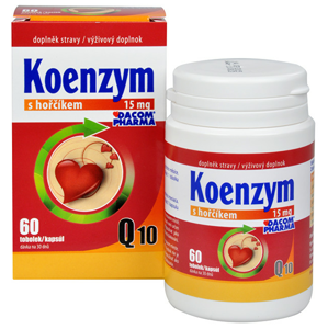 Dacom Pharma Koenzym Q10 s hořčíkem 60 tob. - SLEVA - POŠKOZENÁ KRABIČKA