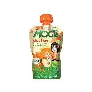 MOGLI Bio Ovocné pyré Moothie jablko pomeranč mrkev bez cukru 100 g - SLEVA - KRÁTKÁ EXPIRACE 31.7.2021