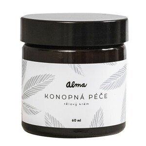 Alma-natural cosmetics Krém na tělo i obličej - Konopná péče 60 ml - SLEVA - KRÁTKÁ EXPIRACE 28.8.2021