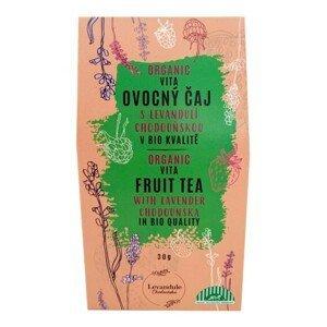 BIO Levandule Chodouňská BIO Vitafruit sypaný čaj s Levandulí Chodouňskou 30 g - SLEVA - KRÁTKÁ EXPIRACE 31.8.2021