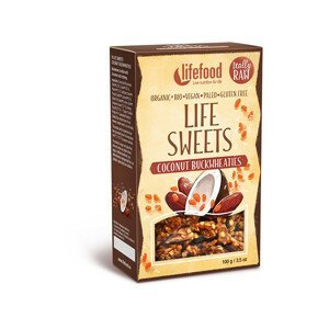 Lifefood Bio Life sweets pohánky kokosové 100 g - SLEVA - KRÁTKÁ EXPIRACE 11.8.2021