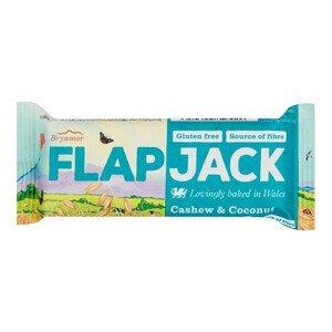 Wholebake Flapjack ovesný kešu-kokos bezlepkový 80 g - SLEVA - KRÁTKÁ EXPIRACE 13.9.2021