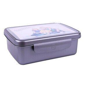 R&B Zdravá sváča komplet box - barva šedá - SLEVA - poškozený papír pod víčkem krabičky