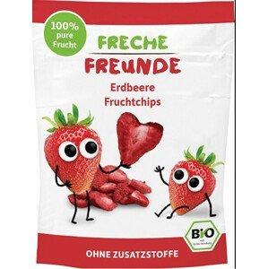 Freche Freunde BIO Ovocné chipsy - 100% Jahoda 12 g - SLEVA - KRÁTKÁ EXPIRACE 18.9.2021