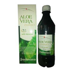 FYTOFONTANA Aloe Vera extrakt 500 ml - SLEVA - KRÁTKÁ EXPIRACE 6.10.2021