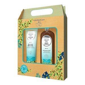 Biotter Pharma Dárková sada pro každodenní péči s arganovým olejem balzám + sprchový gel 2 x 250 ml - SLEVA - poškozená / potrhaná krabička