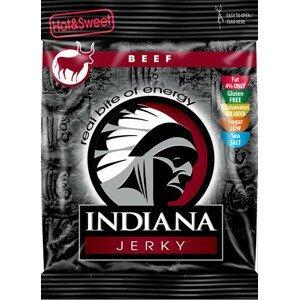 Indiana Indiana Jerky beef (hovězí) Hot & Sweet 25 g - SLEVA - KRÁTKÁ EXPIRACE 31.12.2021