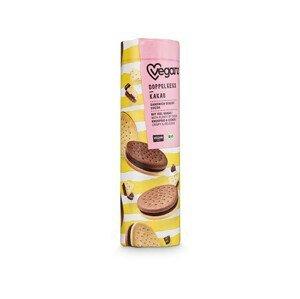Veganz Dvojité sušenky s kakaovou náplní, Bio 400 g - SLEVA - KRÁTKÁ EXPIRACE 22.12.2021