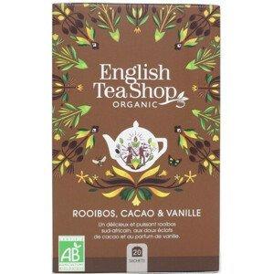 English Tea Shop Rooibos, kakao a vanilka BIO 20 sáčků - SLEVA - potrhaná krabička