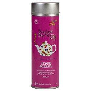 English Tea Shop Super ovocný čaj BIO 15 pyramidek v plechovce - SLEVA - pomačkaná plechovka