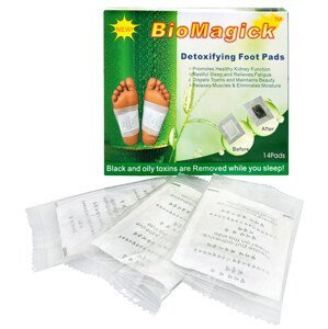 Adiel Detoxikační náplasti BioMagick 14 ks - SLEVA - pomačkaná krabička