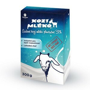 Goldim Kozí mléko sušené instantní 300 g - SLEVA - potrhaná krabička