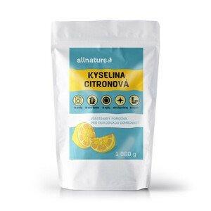 Allnature Kyselina citronová 1 000 g - SLEVA - poškozená etiketa