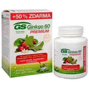 Green-Swan GS Ginkgo 60 Premium 60 tbl. + 30 tbl. ZDARMA - SLEVA - pomačkaná krabička