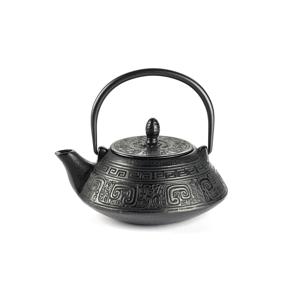 Litinová čajová konvice se sítkem