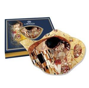 Podčajítko - Gustav Klimt - Polibek