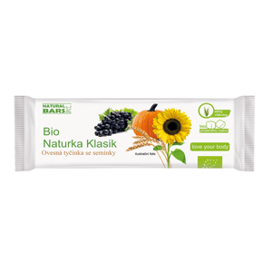 Natural Bars, s.r.o. Naturka - Klasik  (snack) BIO 30 g