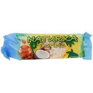 Natural Bars, s.r.o. Naturka - Caribic (snack) 30 g BIO SIMOS