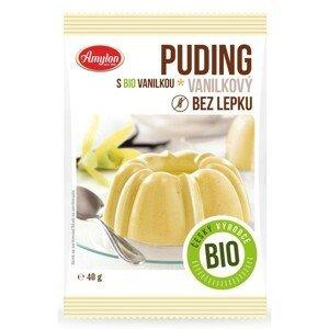Amylon, a.s. Puding vanilkový BEZLEPKOVÝ Amylon BIO 40 g