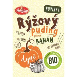 Amylon, a.s. Puding rýžovo-dýňový s příchutí banánu AMYLON BEZLEPKOVÝ BIO 40 g