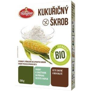 Amylon, a.s. Kukuřičný škrob Amylon BIO  BEZLEPEK 200 g