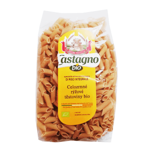 CASTAGNO BRUNO s.a.s. Těstoviny rýžové (100 %) celozrnné Penne 500 g BIO CASTAGNO