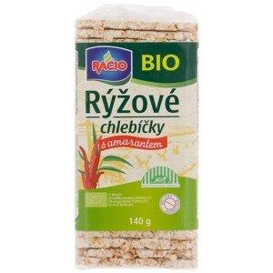 RACIO, s.r.o. Rýžové chlebíčky s amarantem  RACIO BIO 140 g